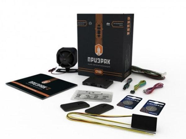 Упаковка автосигнализации ПРИЗРАК-740